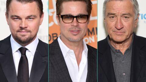 Découvrez la somme extravagante touchée par Leo DiCaprio, Brad Pitt et Robert De Niro pour une pub