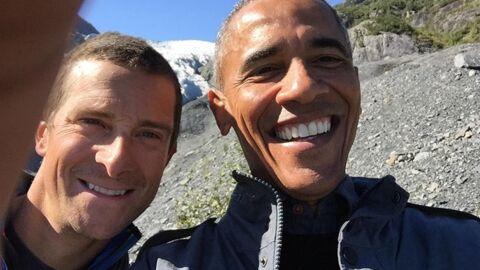 PHOTOS Barack Obama s'éclate en Alaska pour sa télé-réalité