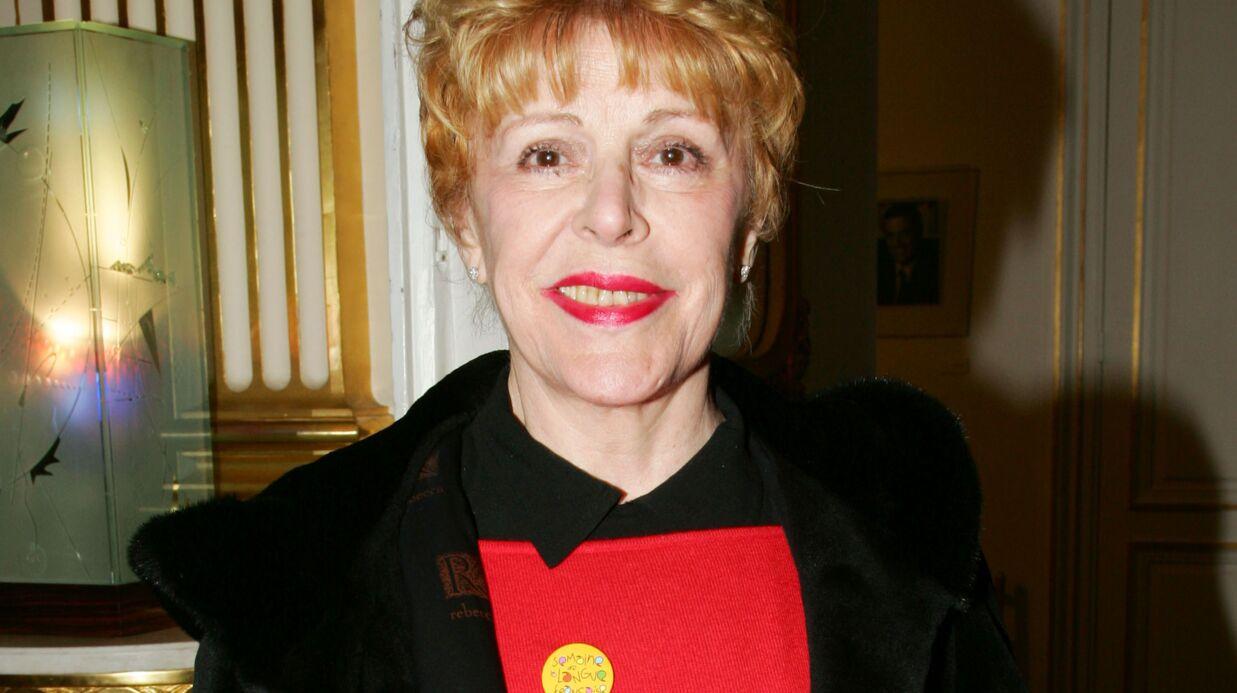 La comédienne Sylvie Joly est décédée à l'âge de 80 ans