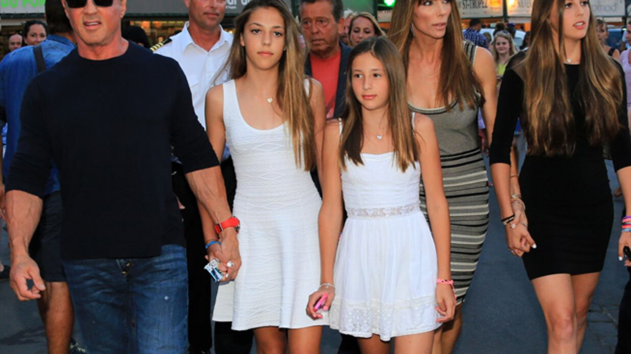 DIAPO Vacances familiales à Saint-Tropez pour Sylvester Stallone