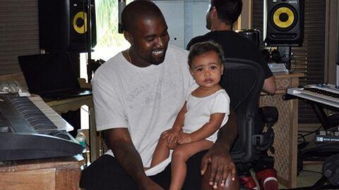 PHOTO Kanye West craque complètement devant sa petite North