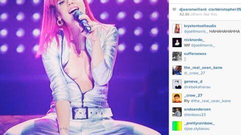 Lily Allen poste une photo de ses seins sur Instagram