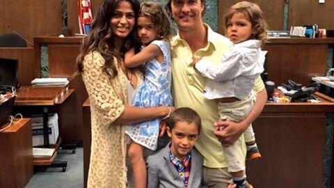 Matthew McConaughey ravi que sa femme Camila Alves ait obtenu la nationalité américaine