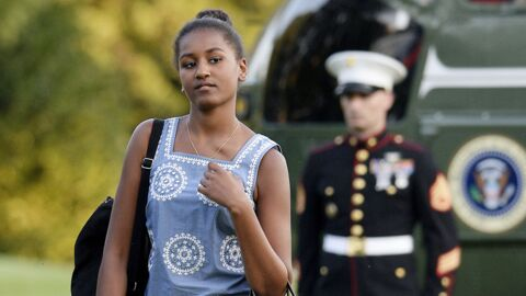 Sasha Obama a un job d'été : serveuse dans un restaurant de fruits de mer