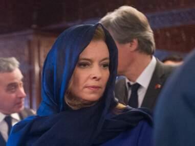 Valerie Trierweiler en visite au Maroc