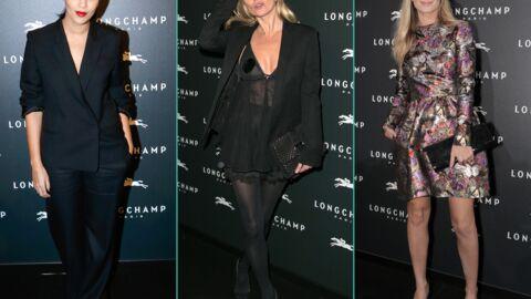 PHOTO Kate Moss sexy, Leïla Bekhti et Mélanie Laurent chic pour Longchamp