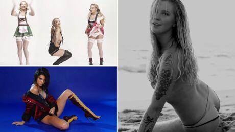 VIDEOS Kendall Jenner en lingerie sexy pour Love, Rita Ora et Ireland Baldwin se trémoussent seins nus