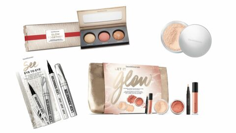 Palette, set… Bare Minerals dévoile sa collection de maquillage spécial Noël 2016