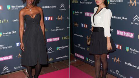 PHOTOS Aïssa Maïga décolletée, Frédérique Bel et Reem Kherici glamour aux Trophées du film français