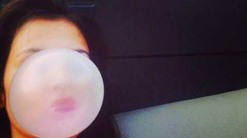 DEVINETTE Saurez-vous reconnaître la sublime jeune femme cachée derrière cette bulle de gum?