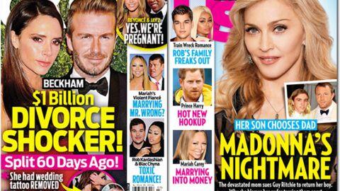 En direct des US: Beyoncé est enceinte, les Beckham divorcent (aucun lien)