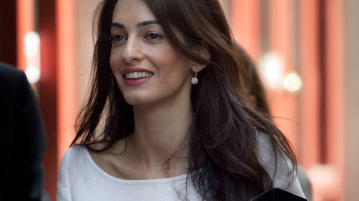 Amal Clooney dit avoir été menacée d'arrestation par les autorités égyptiennes