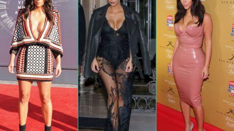 DIAPO Kim Kardashian dévoile sa tenue préférée de 2014, elle avait beaucoup de choix…