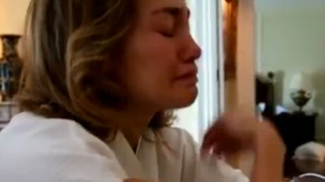 Jennifer Lopez en larmes pour évoquer son divorce avec Marc Anthony