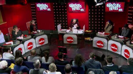 Les Grosses Têtes: Arielle Dombasle et Marcela Iacub se disputent pour un poème en Espagnol et c'est très drôle