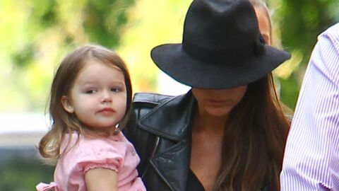 DIAPO Victoria et Harper Beckham super stylées pour la fête d'école de Cruz
