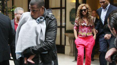 PHOTOS Beyoncé et Jay-Z emmènent Blue Ivy à Paris