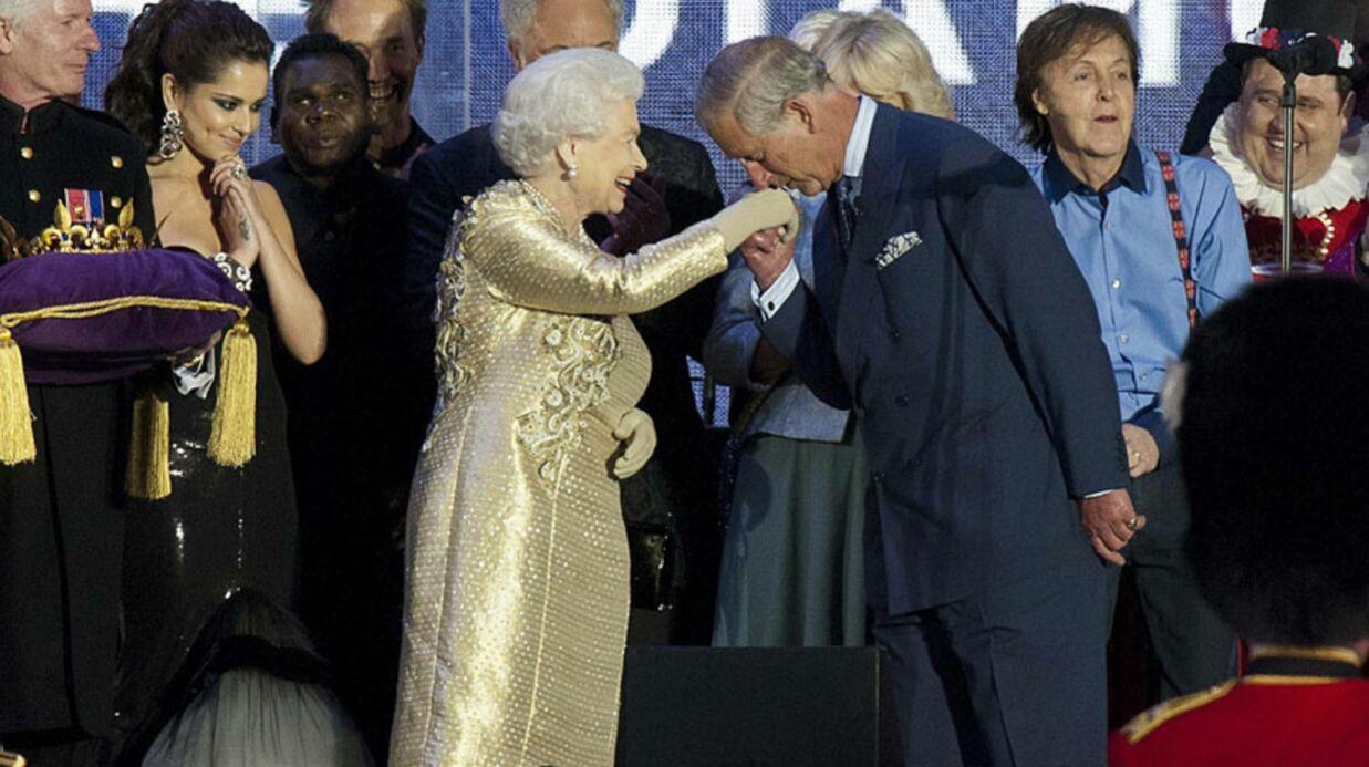 PHOTOS  Elizabeth II ovationnée lors du concert géant de son jubilé
