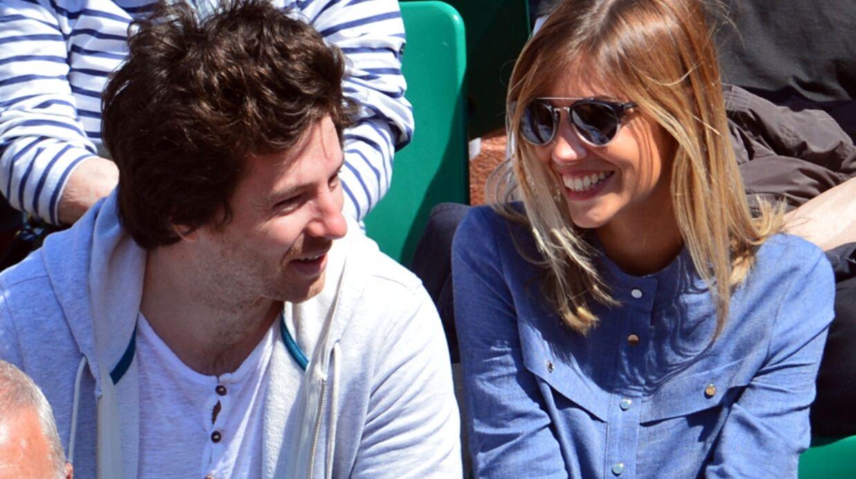 DIAPO Alexandra Rosenfeld et Jean Imbert: un joli couple à Roland-Garros