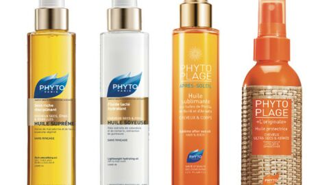 Des nouveautés 100% huiles pour vos cheveux chez Phyto