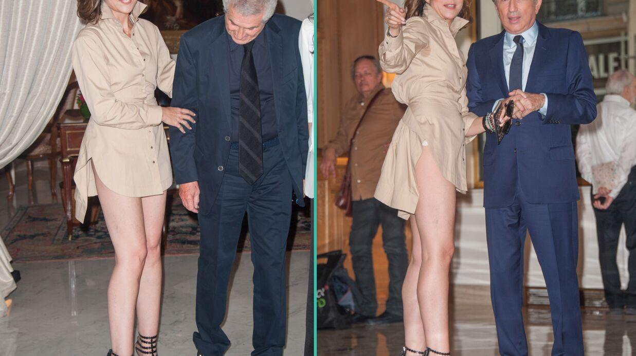 PHOTOS Elsa Zylberstein: sa tenue trop courte lui joue des tours