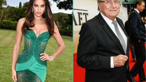 Irina Shayk aurait eu une aventure avec… Sepp Blatter, le futur ex-président de la FIFA