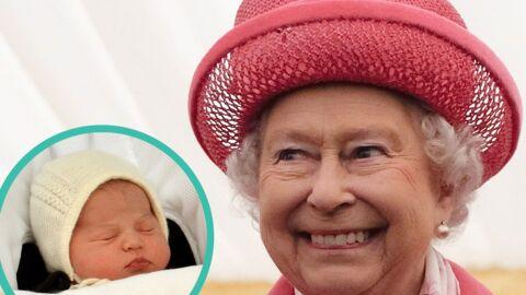 Première rencontre entre Elizabeth II et son arrière-petite-fille Charlotte