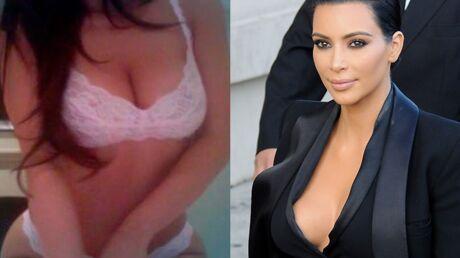 PHOTOS Kim Kardashian en soutien-gorge pour la promo de son livre