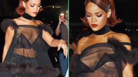 PHOTOS Rihanna sort seins nus pour l'after party du Met Ball