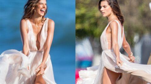 PHOTOS Alessandra Ambrosio dévoile ses fesses en plein shooting sexy
