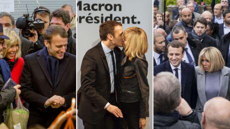 PHOTOS Brigitte et Emmanuel Macron: de la candidature au second tour, leur campagne à deux