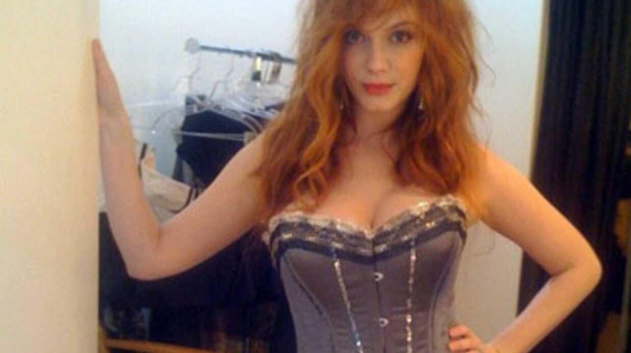 Christina Hendricks: une photo topless balancée sur le Net