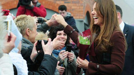 DIAPO Kate Middleton lève les inquiétudes sur sa grossesse