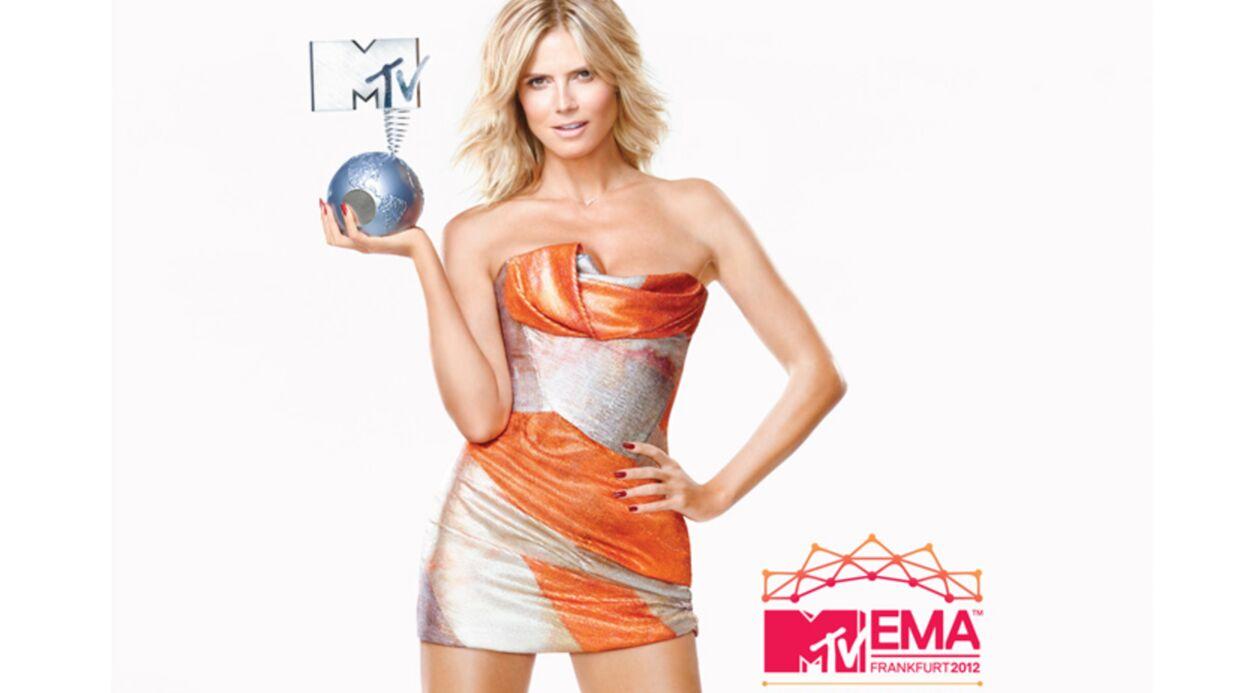 Heidi Klum: Confessions à J-6 des MTV EMA