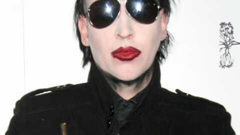 VIDEO Marilyn Manson au naturel dans une série