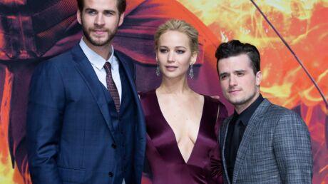 PHOTOS Jennifer Lawrence très décolletée à l'avant-première de Hunger Games