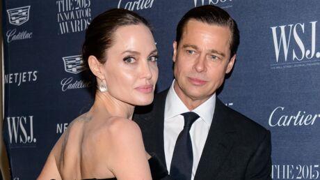 Brad Pitt accepte le divorce et demande la garde partagée des enfants