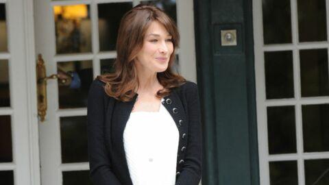 Carla Bruni est entrée à la Muette ce matin – Info Voici.fr