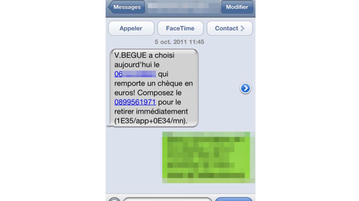 VIDEO Valérie Bègue associée à un drôle de jeu par SMS