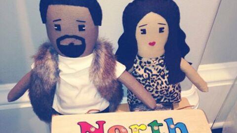 PHOTO Kim Kardashian: sa fille North joue déjà à la poupée!