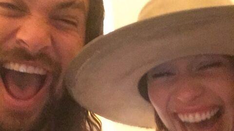 PHOTOS Emilia Clarke (Game of Thrones) retrouve son Khal Drogo à Paris