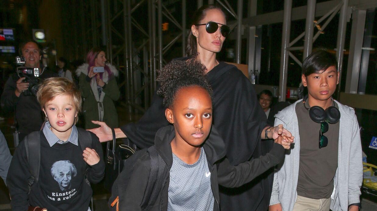 Brad Pitt et Angelina Jolie: très perturbés par le divorce, les enfants suivent une thérapie