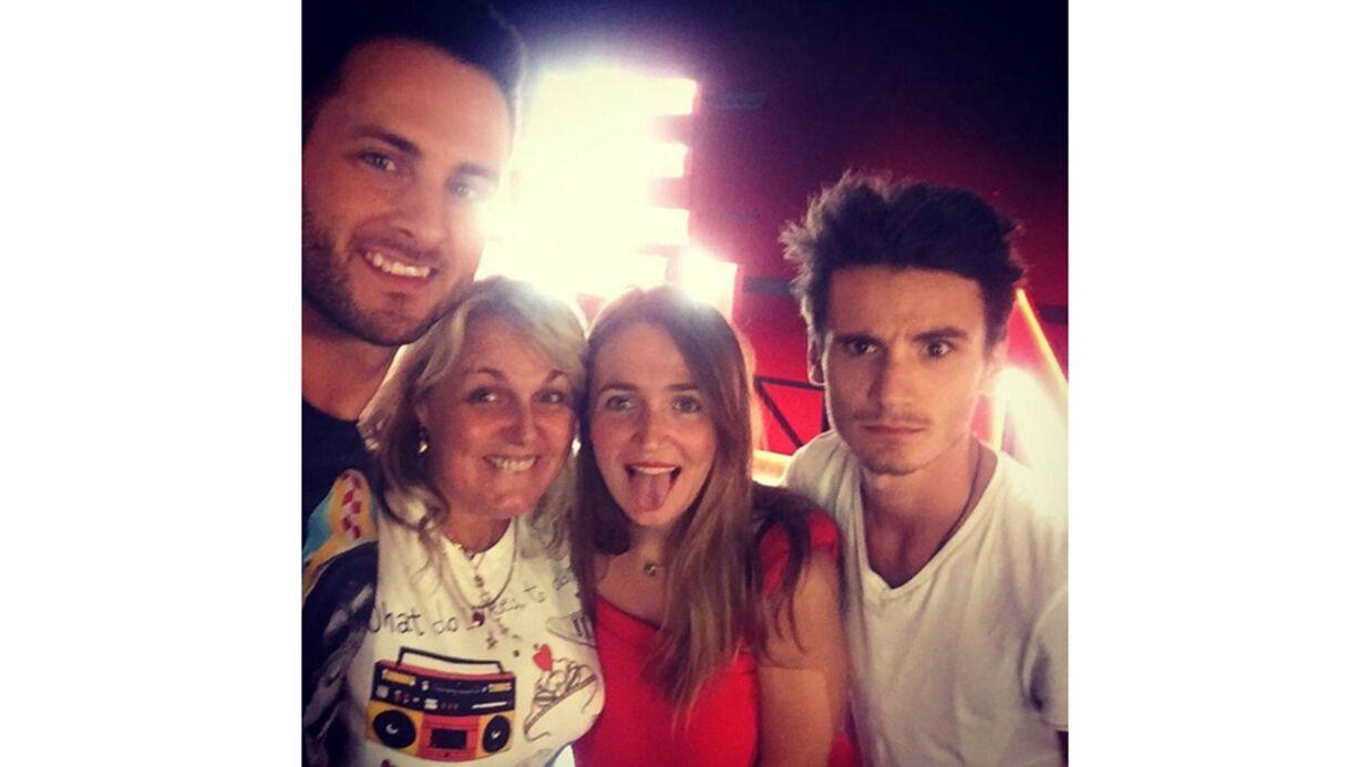 PHOTO Valérie Damidot: ses enfants lui rendent visite sur le tournage de Danse avec les stars