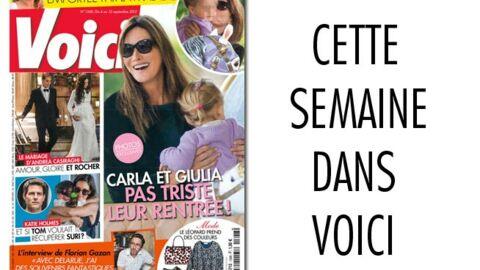 Cette semaine dans Voici: Carla Bruni, une maman épanouie