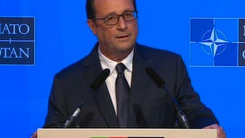 François Hollande répond pour la première fois aux attaques de Valérie Trierweiler