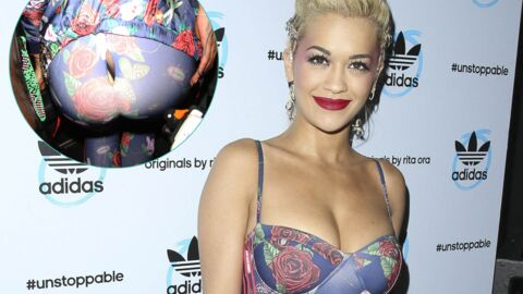 PHOTOS Rita Ora craque sa combinaison et dévoile ses dessous