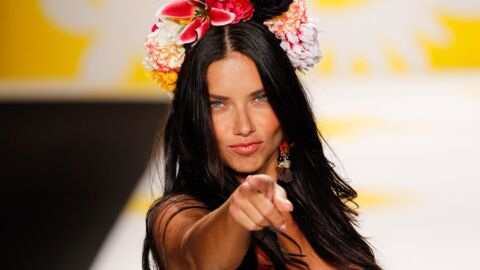 On y était : Adriana Lima fait son show en Desigual à New York