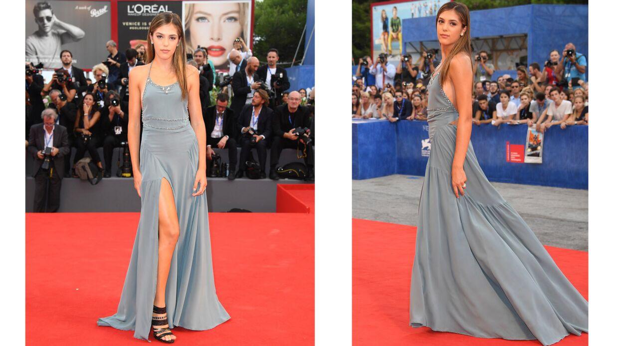 PHOTOS Qui est cette ravissante fille de star qui a enflammé le tapis rouge de Venise?