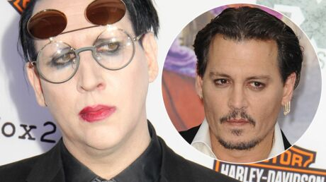Marilyn Manson défend son ami Johnny Depp contre les accusations d'Amber Heard