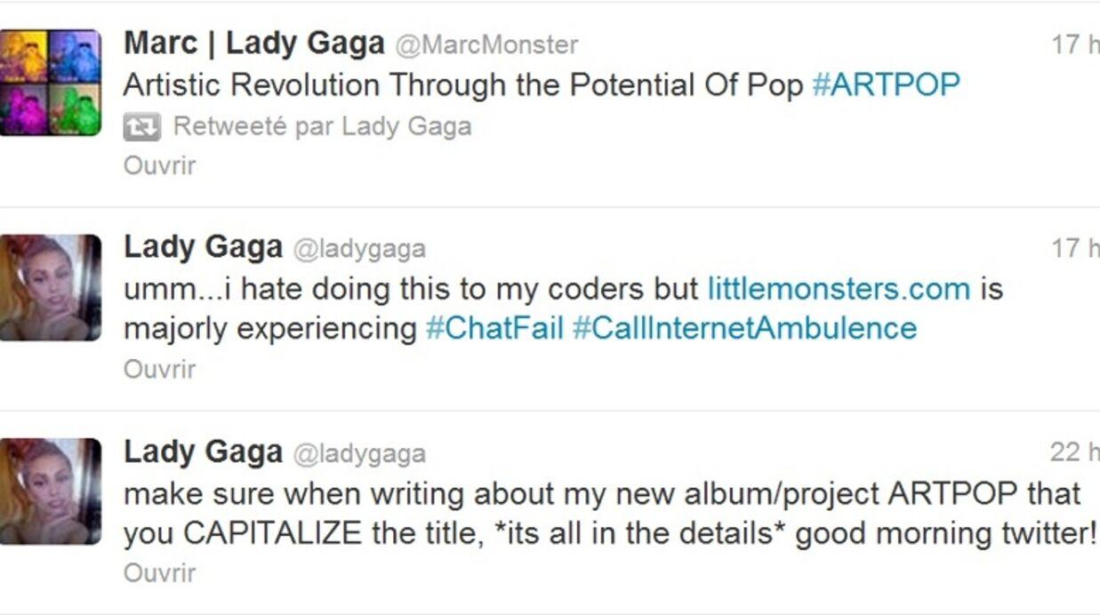 Lady Gaga  révèle le titre de son prochain album avec un tatouage